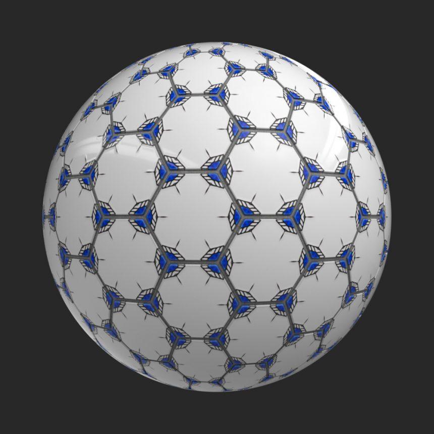 Pentagon Tile 020828