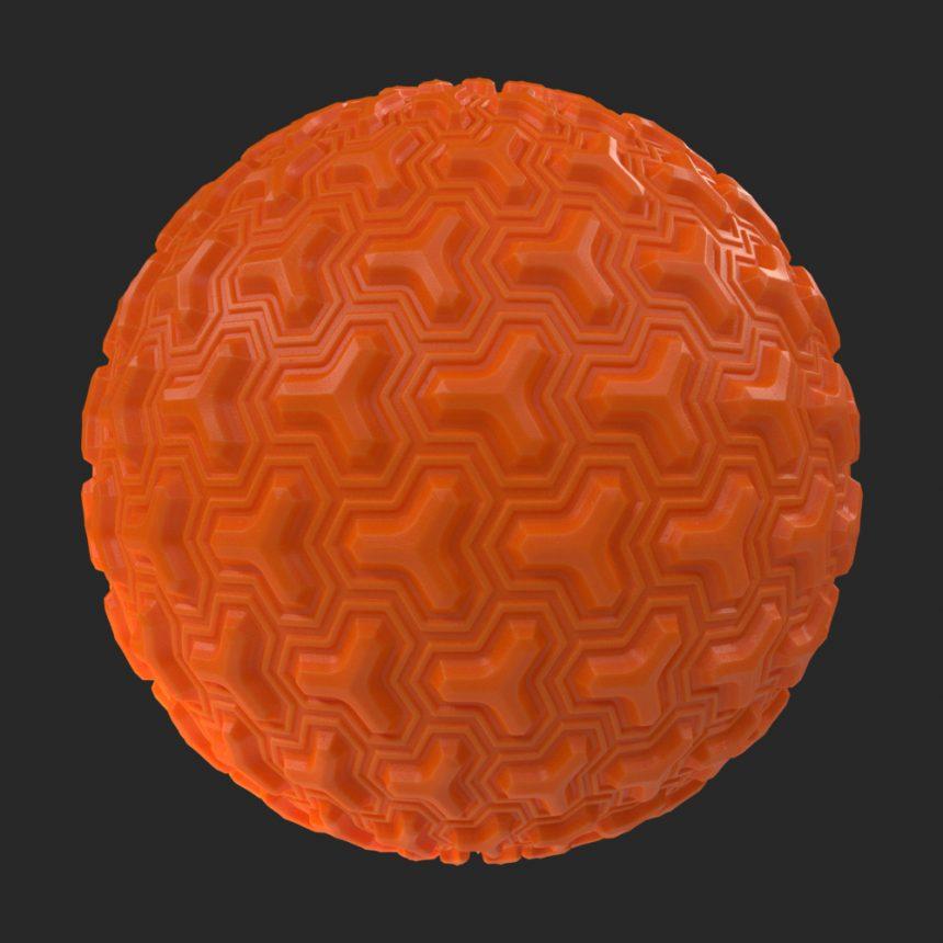 Bumpy Plastic 205933